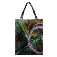 Connection Background Line Classic Tote Bag by amphoto