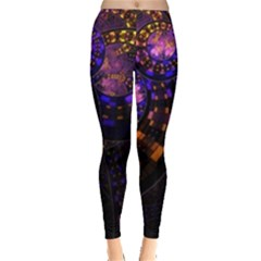 Circles Background Pattern  Leggings  by amphoto