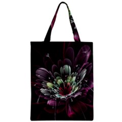 Flower Burst Background  Zipper Classic Tote Bag