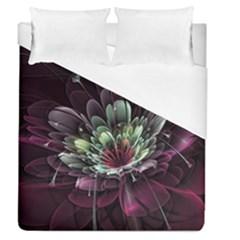 Flower Burst Background  Duvet Cover (Queen Size)