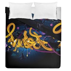 Sign Paint Bright  Duvet Cover Double Side (queen Size) by amphoto