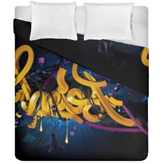 Sign Paint Bright  Duvet Cover Double Side (california King Size) by amphoto
