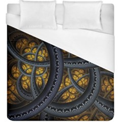 Circles Background Spots  Duvet Cover (king Size) by amphoto