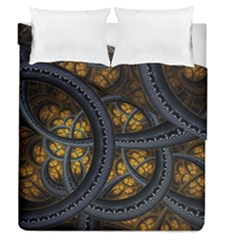 Circles Background Spots  Duvet Cover Double Side (queen Size) by amphoto