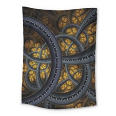 Circles Background Spots  Medium Tapestry by amphoto