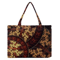 Patterns Line Pattern  Zipper Medium Tote Bag by amphoto