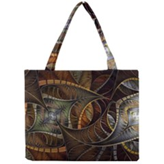 Mosaics Stained Glass Colorful  Mini Tote Bag by amphoto