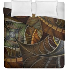 Mosaics Stained Glass Colorful  Duvet Cover Double Side (king Size) by amphoto