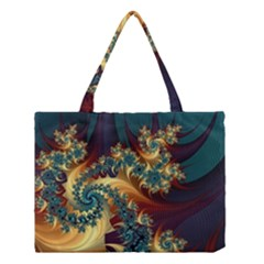 Patterns Paint Ice  Medium Tote Bag by amphoto