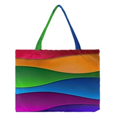 Layers Light Bright  Medium Tote Bag by amphoto