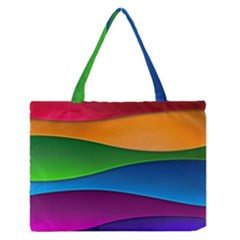 Layers Light Bright  Zipper Medium Tote Bag by amphoto