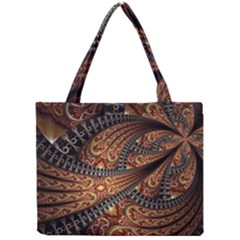 Patterns Background Dark  Mini Tote Bag by amphoto