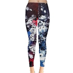 Spots Dark Blotches  Leggings  by amphoto