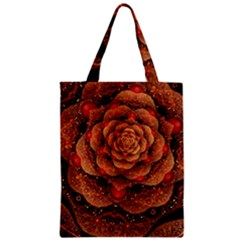 Flower Patterns Petals  Zipper Classic Tote Bag by amphoto