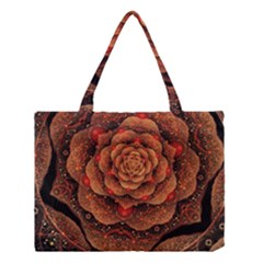 Flower Patterns Petals  Medium Tote Bag by amphoto