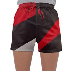 Lines Background Light  Sleepwear Shorts