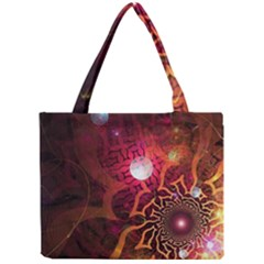 Explosion Background Bright  Mini Tote Bag by amphoto