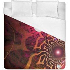 Explosion Background Bright  Duvet Cover (king Size) by amphoto
