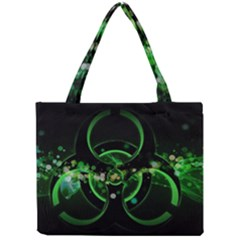 Radiation Sign Spot  Mini Tote Bag by amphoto