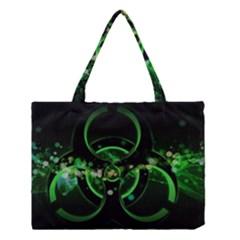 Radiation Sign Spot  Medium Tote Bag by amphoto