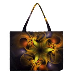 Art Fractal  Medium Tote Bag by amphoto