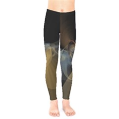 Background Blurred Lines Kids  Legging by amphoto