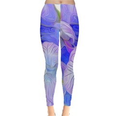 Flowers Abstract Colorful  Leggings  by amphoto
