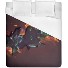 Abstraction Patterns Stripes  Duvet Cover (california King Size) by amphoto
