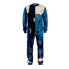 Abstraction Stains Paint  Onepiece Jumpsuit (kids)