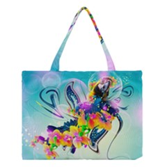 Parrot Abstraction Patterns Medium Tote Bag by amphoto
