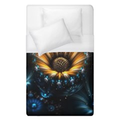 Fractal Flowers Abstract  Duvet Cover (single Size) by amphoto