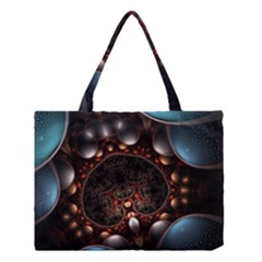 Pattern Fractal Abstract 3840x2400 Medium Tote Bag by amphoto