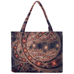 Fractal Patterns Abstract  Mini Tote Bag by amphoto