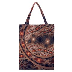 Fractal Patterns Abstract  Classic Tote Bag by amphoto