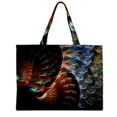 Fractal Patterns Abstract 3840x2400 Zipper Mini Tote Bag by amphoto