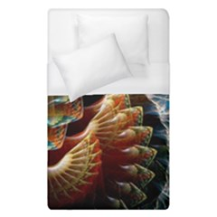 Fractal Patterns Abstract 3840x2400 Duvet Cover (single Size) by amphoto