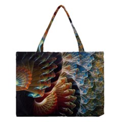 Fractal Patterns Abstract 3840x2400 Medium Tote Bag by amphoto