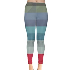 Line Light Pattern  Leggings  by amphoto