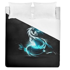 Dragon Classical Light  Duvet Cover (queen Size) by amphoto