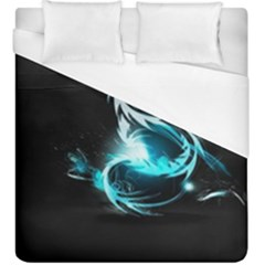 Dragon Classical Light  Duvet Cover (king Size) by amphoto