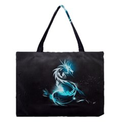 Dragon Classical Light  Medium Tote Bag by amphoto