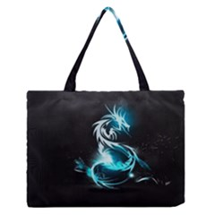 Dragon Classical Light  Zipper Medium Tote Bag by amphoto