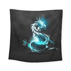 Dragon Classical Light  Square Tapestry (small) by amphoto