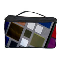 Abstract Composition Cosmetic Storage Case by Nexatart
