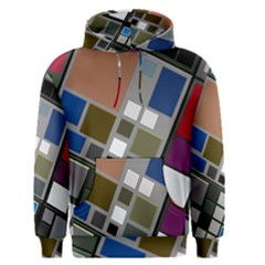 Abstract Composition Men s Pullover Hoodie