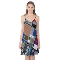 Abstract Composition Camis Nightgown