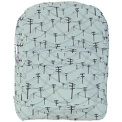 Telephone Lines Repeating Pattern Full Print Backpack