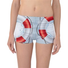 Spare Tire Icon Vector Reversible Boyleg Bikini Bottoms