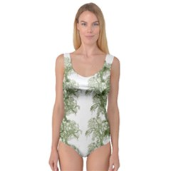 Trees Tile Horizonal Princess Tank Leotard