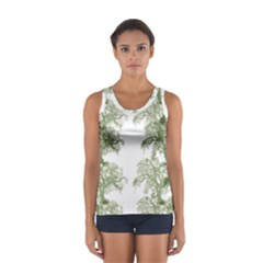 Trees Tile Horizonal Sport Tank Top